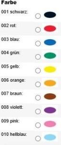 10 Farben